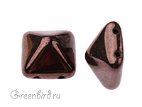 Pyramid 12mm, Purple Luster, 1 шт. (#LM23980)