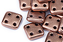 QuadraTile 6mm, Matte Metallic Bronze Copper, 5 гр (#K0178)