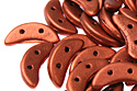 Crescent 3x10mm, Mat. Metallic Dark Copper, 5 гр (#K0175)