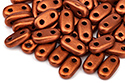 Bar 6x3mm, Matte Metallic Dk. Copper, 5 гр (#K0175)