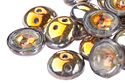 Piggy beads 4x8mm, Crystal/Marea, 10 гр (#00030/28001)