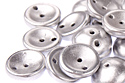 Piggy beads 4x8mm, Aluminium Silver, 10 гр (#01700)