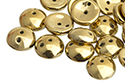 Piggy beads 4x8mm, Full Dorado, 10 гр (#23980/26440)