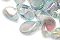 Pip Beads 5x7mm, Crystal/Blue Rainbow, 5 гр (#00030/98538)